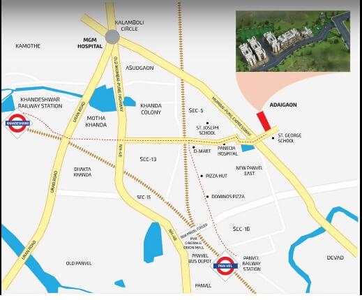 vijay abode location image1