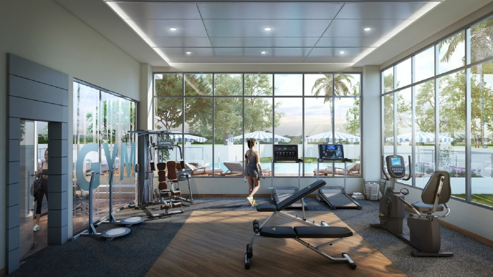vijay khetan krishna residences project gymnasium image1