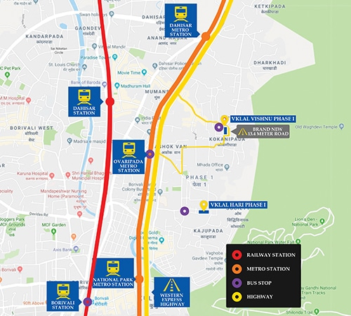 vklal vishnu phase 1 project location image1