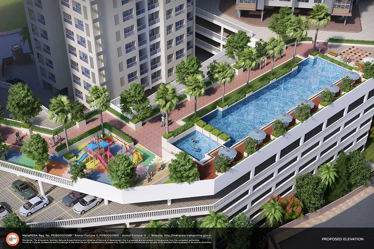 wadhwa crown residences amenities features4