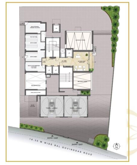 wadhwa pristine master plan image9