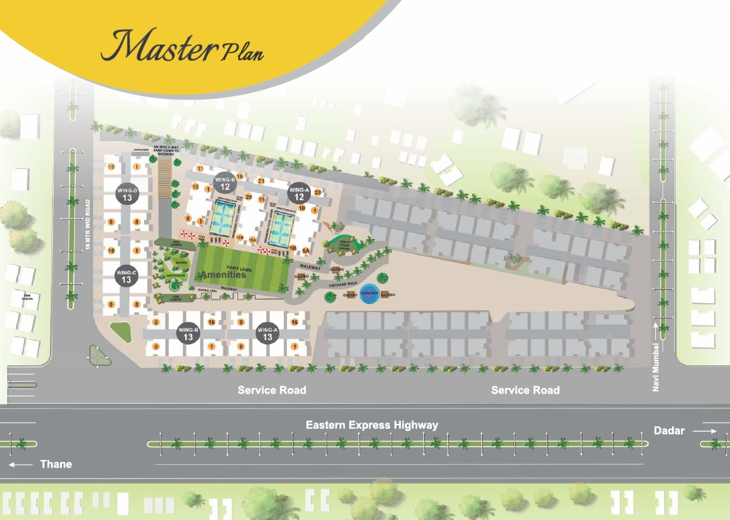 xrbia chembur central orchid d master plan image3