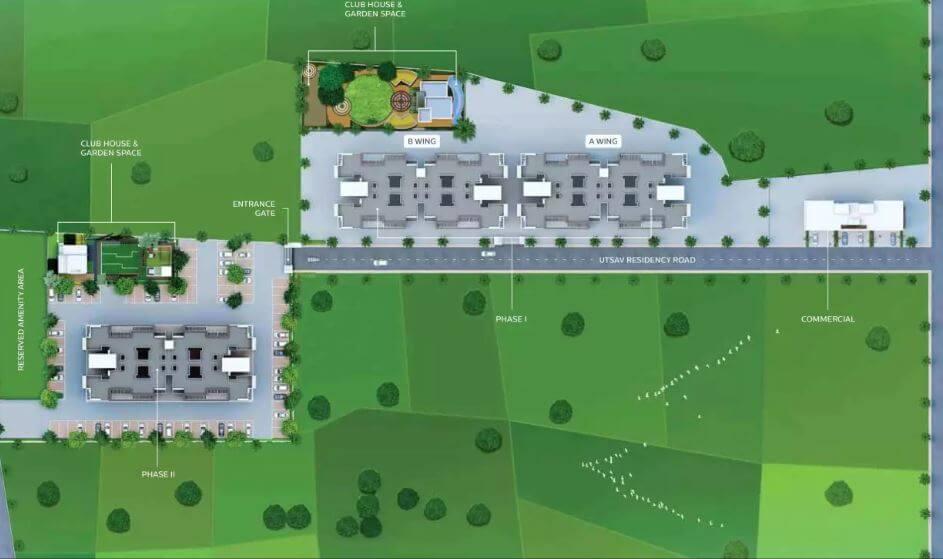 zenith utsav residency phase ii master plan image9