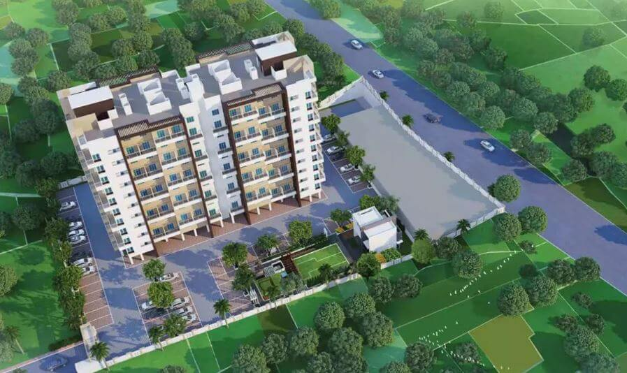 zenith utsav residency phase ii tower view8
