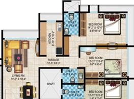 acme legacy apartment 2bhk 1140sqft1