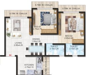 adityaraj manoranjan apartment 2 bhk 523sqft 20201427131415