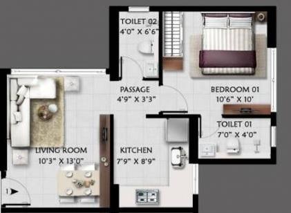 anjani shiv ganga apartment 1 bhk 388sqft 20212108142135