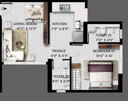 anjani shiv ganga apartment 1 bhk 423sqft 20212108142153