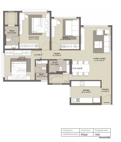 ariisto bellanza apartment 3bhk 876sqft 20201519161522