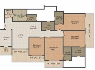 bharat skyvistas apartment 2bhk 2850sqft1