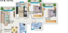 bhoomi acropolis apartment 2bhk 910sqft 1