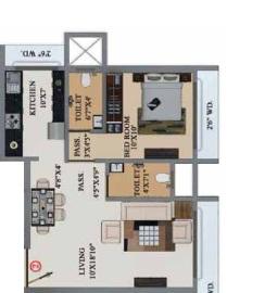 buildtech artiz elite apartment 1 bhk 489sqft 20204116124140
