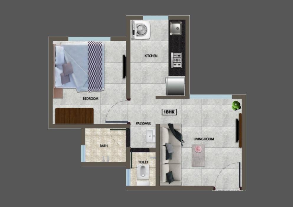 divyaraj divyajal apartment 1bhk 303sqft01