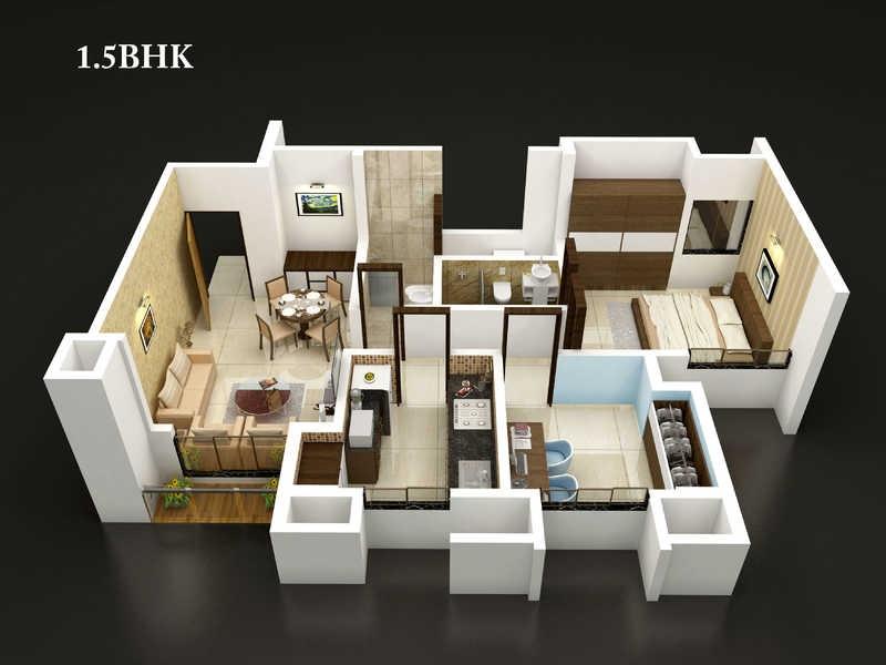 dosti vidisha apartment 1bhk 814sqft 20201925121928