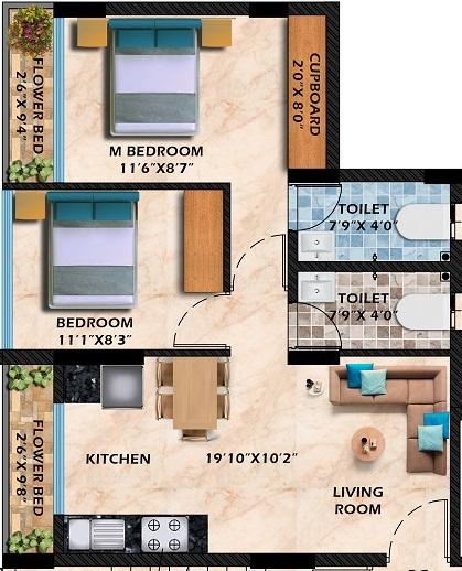 empire industrial centrum phase 2 apartment 2bhk 537sqft01