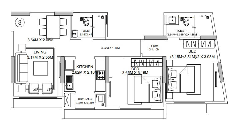 godrej central apartment 2bhk 725sqft51