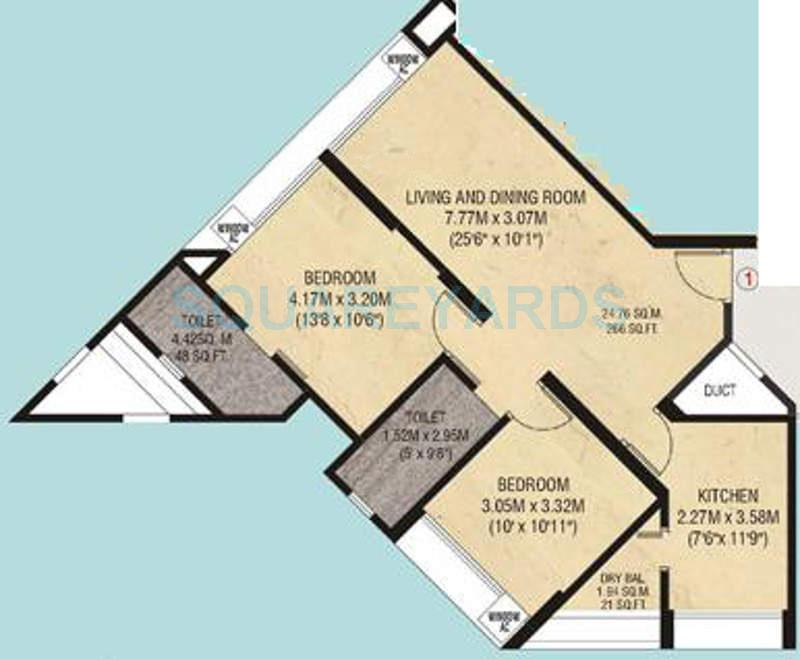 godrej garden enclave apartment 2bhk 975sqft1