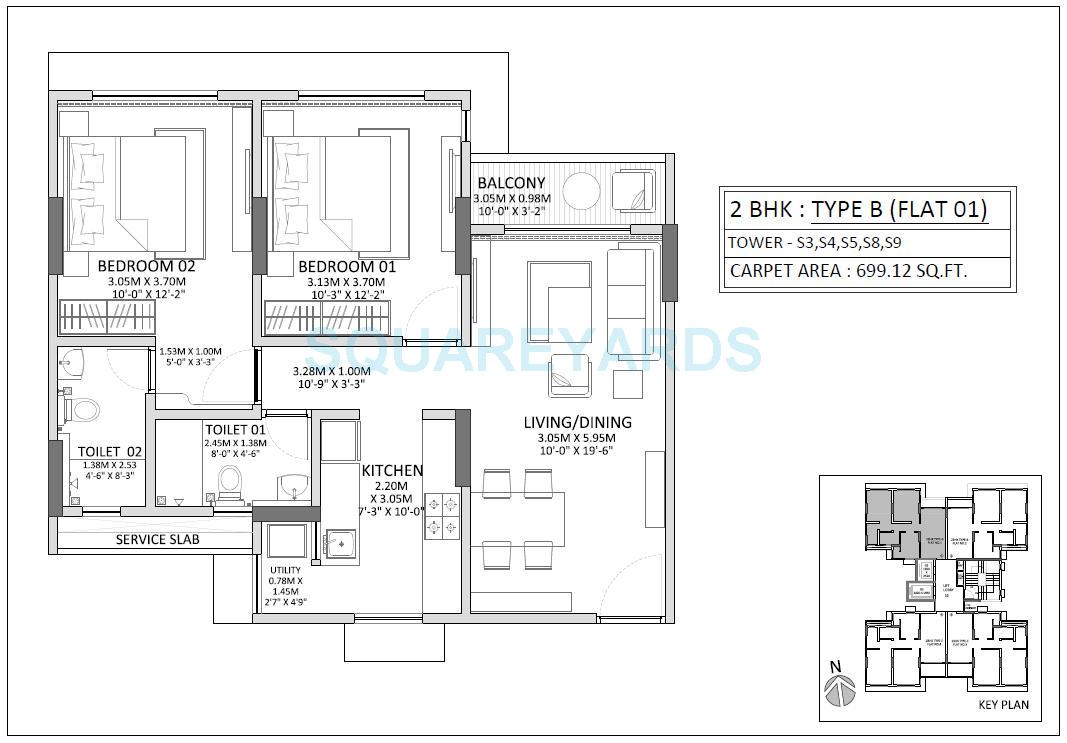 How Big Is A 700 Sq Ft Apartment Latest Bestapartment 2018