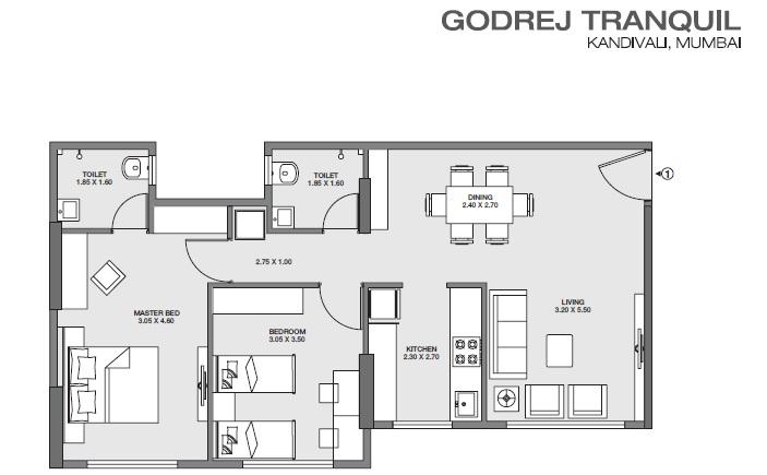 godrej tranquil apartment 2bhk 706sqft61