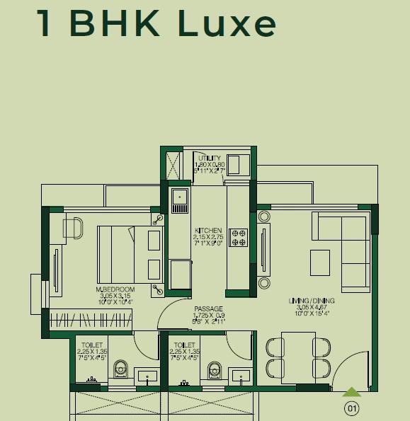 godrej urban park apartment 1 bhk 431sqft 20210126110158