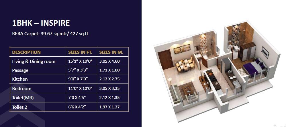 group satellite elegance apartment 1bhk 427sqft01