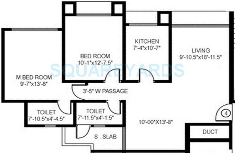 gundecha builders altura apartment 2bhk 1035sqft 1