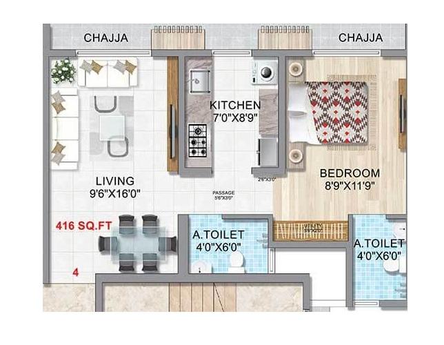 gurukrupa labham apartment 1 bhk 416sqft 20204120124120