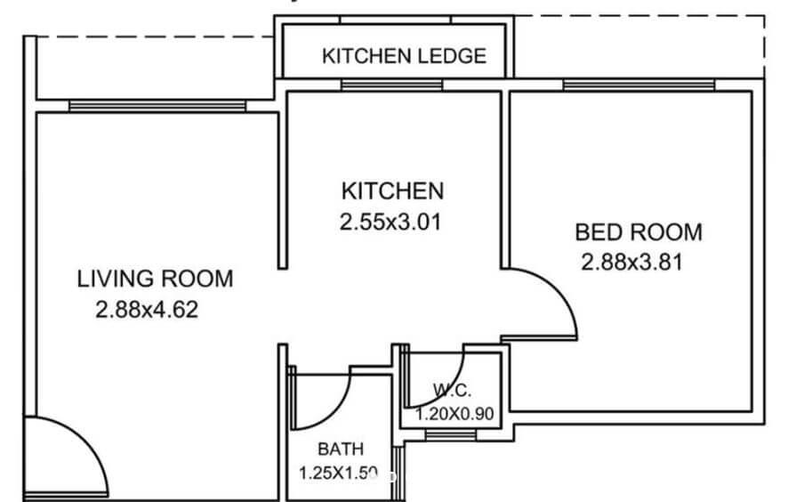 haware nakshatra apartment 1bhk 348sqft11