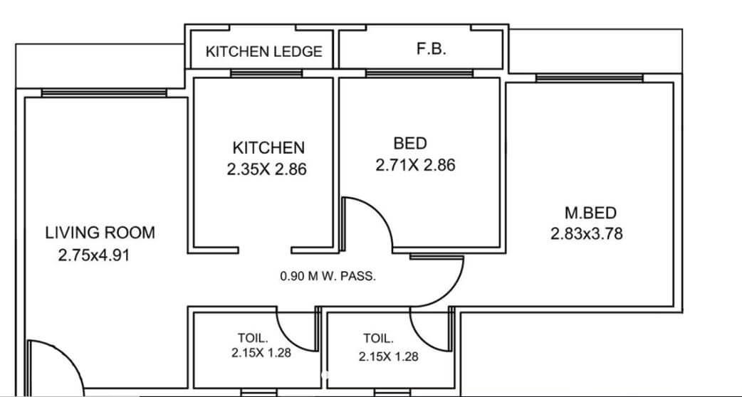 haware nakshatra apartment 2bhk 507sqft21