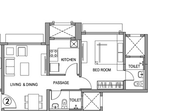 hiranandani fortune city apartment 1bhk 557sqft71