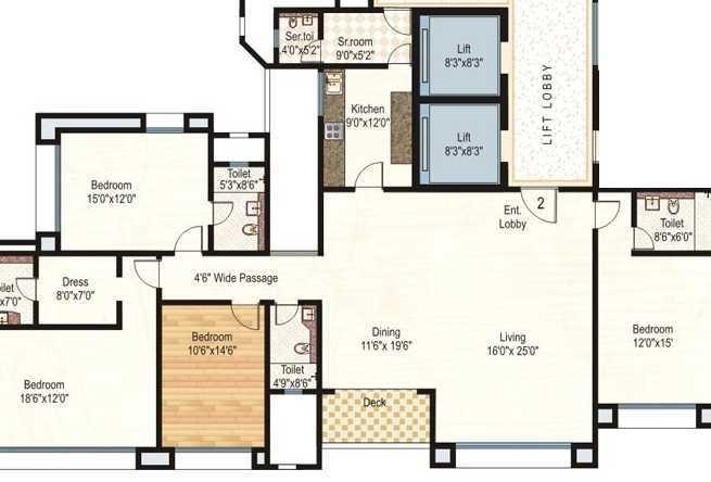 hiranandani gardens glen ridge apartment 4 bhk 1764sqft 20200823120803