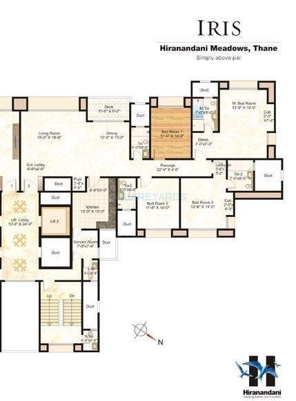 hiranandani iris apartment 4 bhk 1962sqft 20200905140904