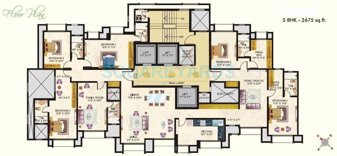 hiranandani maitri park apartment 5bhk 2675sqft1