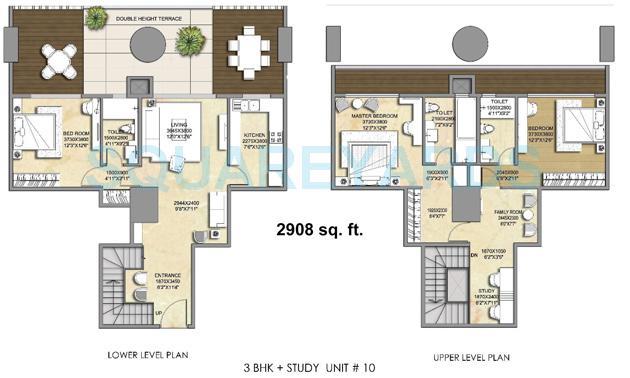 indiabulls sky forest apartment 3bhk 2908sqft 1