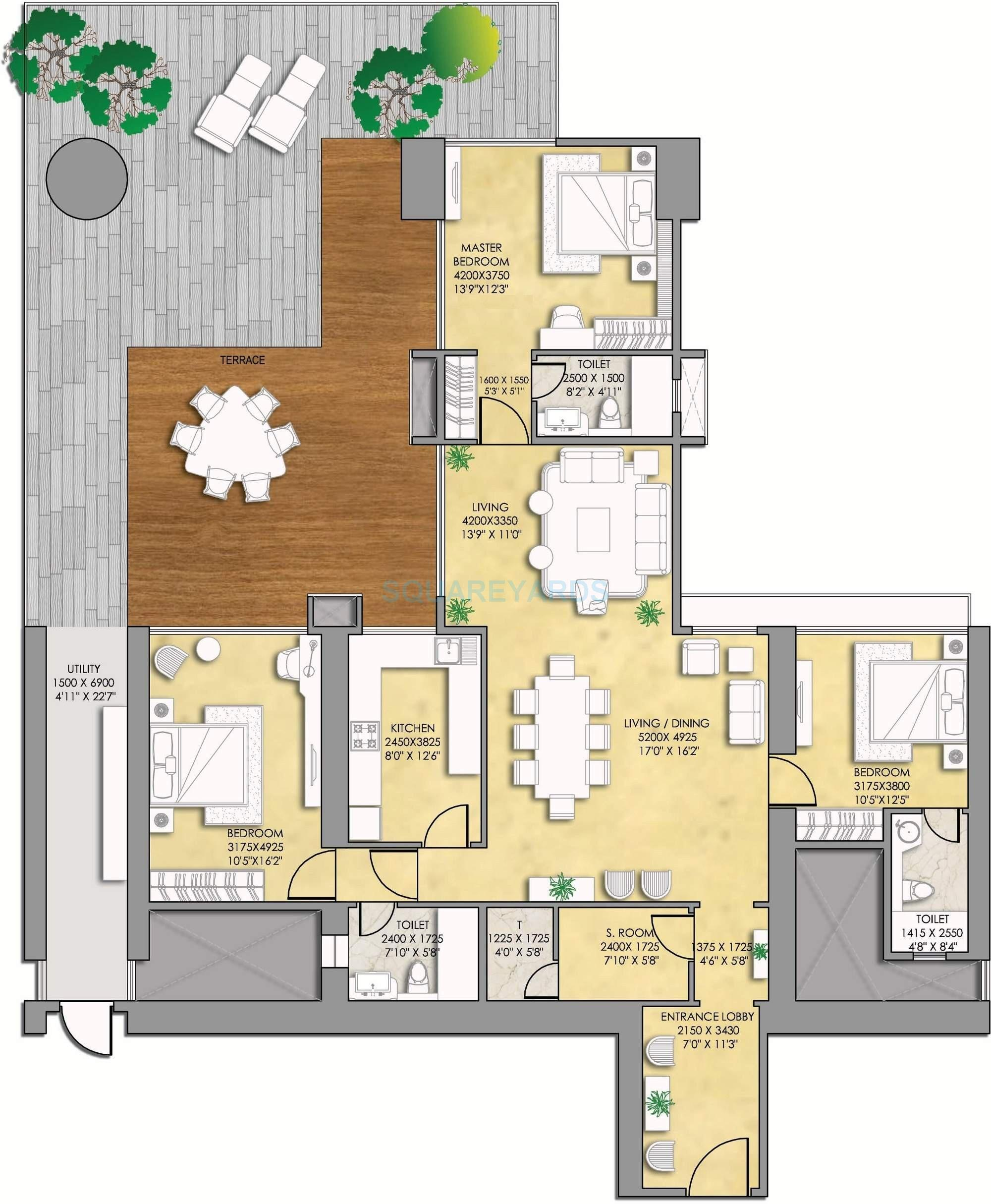indiabulls sky suites apartment 3bhk 3341sqft2
