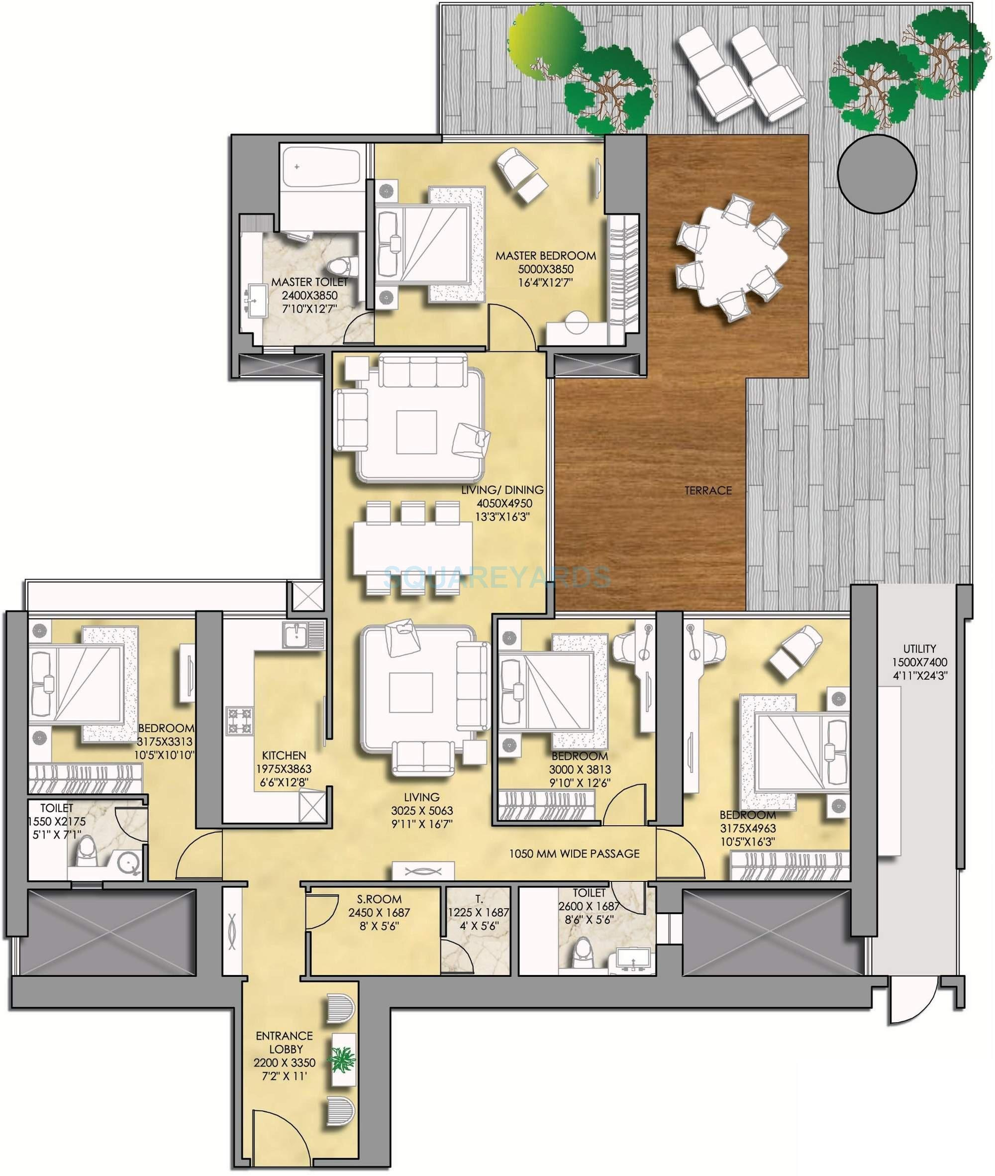 indiabulls sky suites apartment 4bhk 3429sqft1