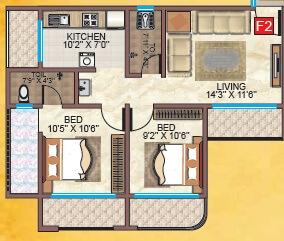 infini om sai home apartment 2bhk 657sqft41