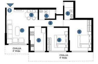 je and vee om trimurti apartment 3bhk 687sqft 31