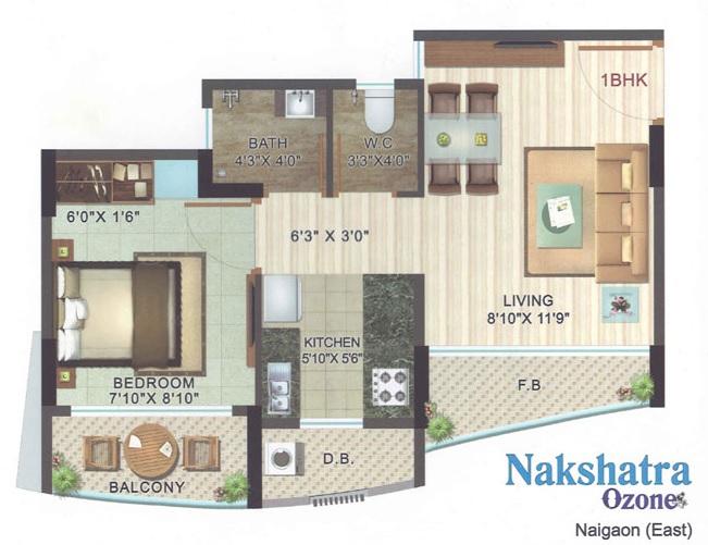 jsb nakshatra ozone apartment 1 bhk 500sqft 20213201143238