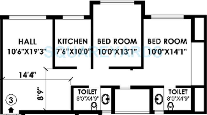 k raheja heights apartment 2bhk 1165sqft1