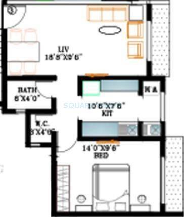 kabra nalanda apartment 1bhk 858sqft1