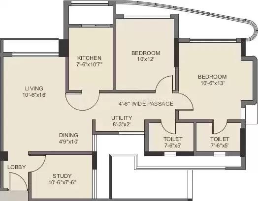 kalpataru srishti 350 chs ltd apartment 2bhk 1235sqft 20204329154342
