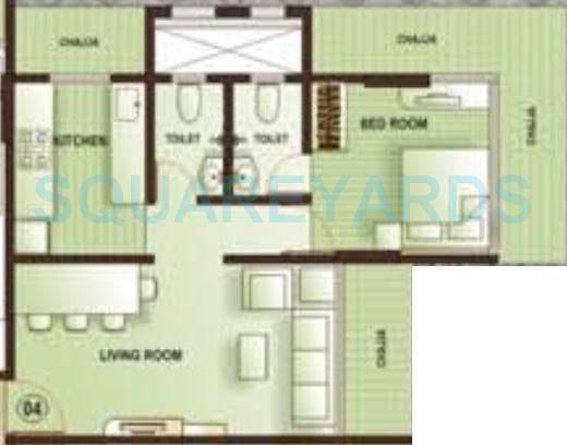 kamla aquina apartment 1bhk 680sqft1