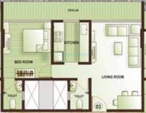 kamla aquina apartment 1bhk 700sqft1