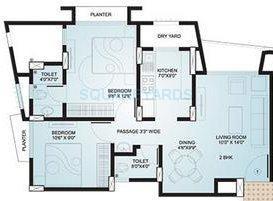 kanakia spaces ananta apartment 1bhk 834sqft 1