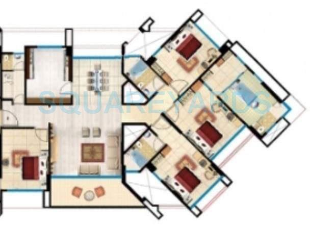 kanakia spaces samarpan royale apartment 4bhk 2600sqft1