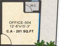 kashikar primus business park office space 201sqft101