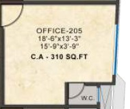 kashikar primus business park office space 310sqft51
