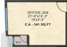 kashikar primus business park office space 341sqft81