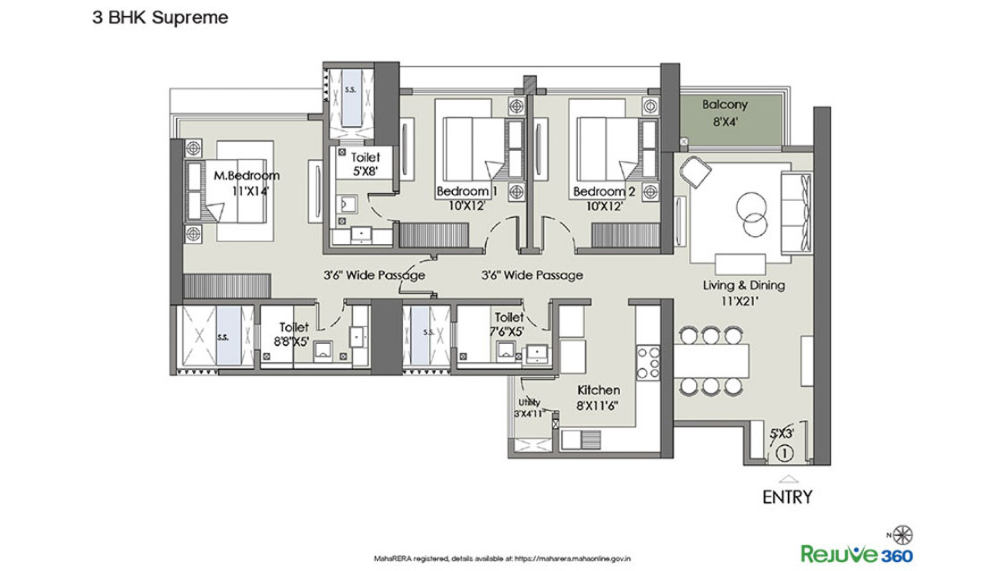 l and t rejuve 360 apartment 3bhk 1023sqft71